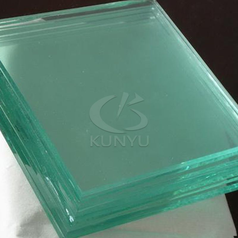 Tempered Glass Greenhouse Clear Cover Material