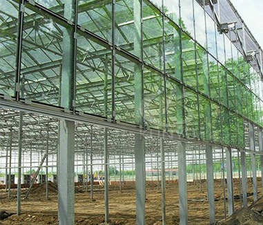 Types of Glass Greenhouse